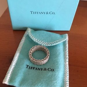 Tiffany Somerset Mesh ring